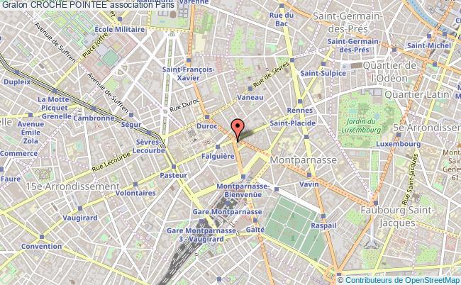 plan association Croche Pointee Paris