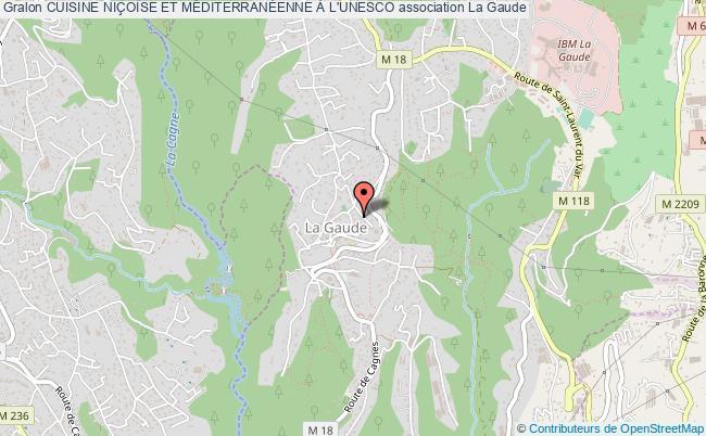 plan association Cuisine NiÇoise Et MÉditerranÉenne À L'unesco