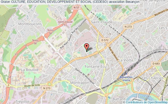 plan association Culture, Éducation, DÉveloppement Et Social (cÉdÉso)