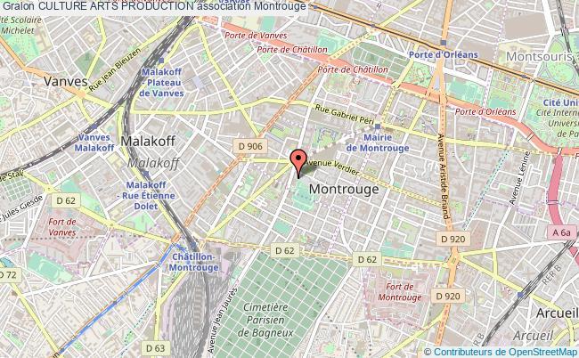 plan association Culture Arts Production Montrouge