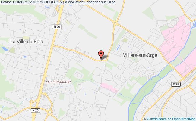 plan association Cumbia Bamb' Asso (c.b.a.) Paris 12e