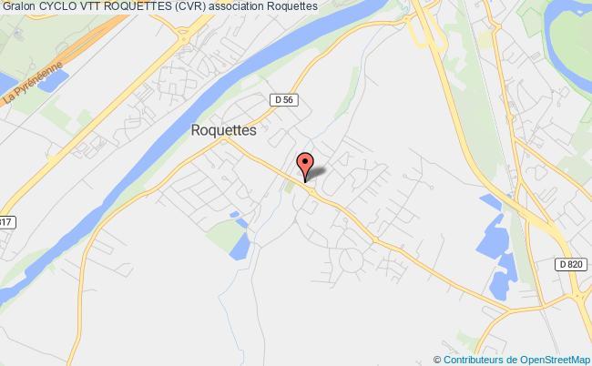plan association Cyclo Club Roquettes