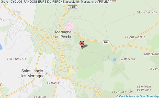 plan association Cyclos Randonneurs Du Perche