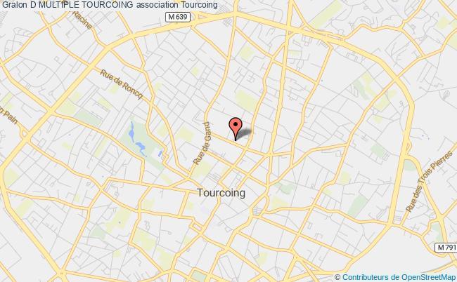 plan association D Multiple Tourcoing Tourcoing