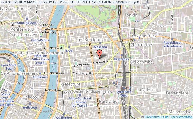 plan association Dahira Mame Diarra Bousso De Lyon Et Sa RÉgion
