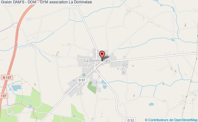 plan association Dam's - Dom - Gym La Dominelais
