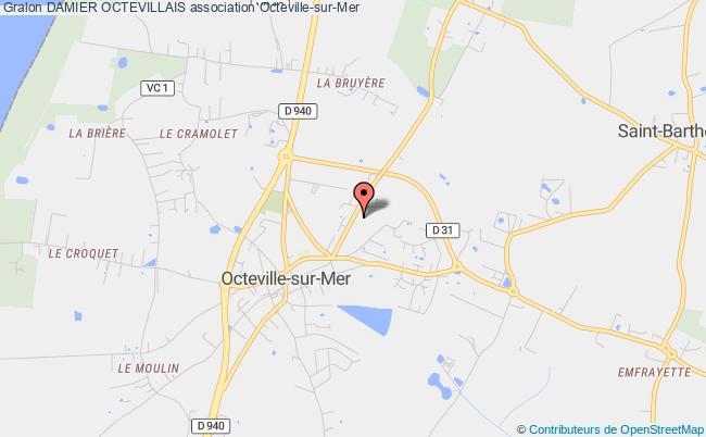 plan association Damier Octevillais Octeville-sur-Mer