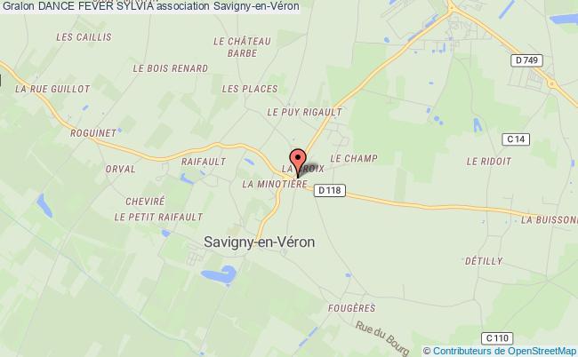 plan association Dance Fever Sylvia Savigny-en-Véron