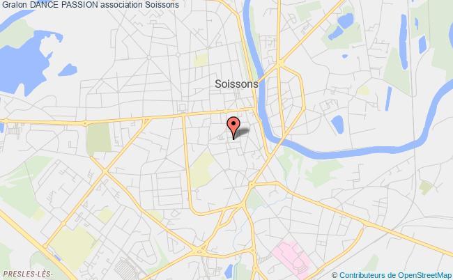 plan association Dance Passion Soissons
