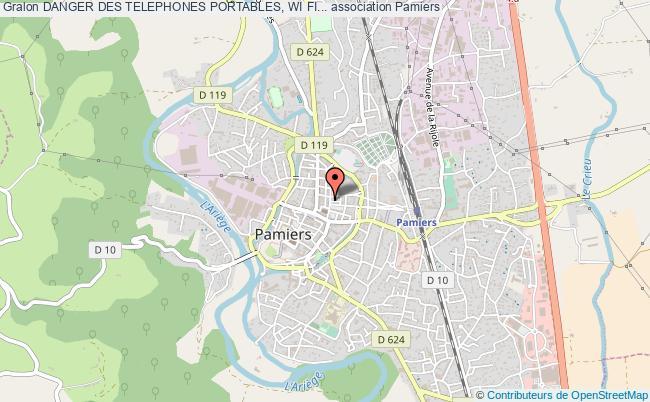 plan association Danger Des Telephones Portables, Wi Fi...