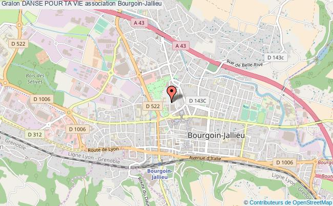 plan association Danse Pour Ta Vie Bourgoin-Jallieu