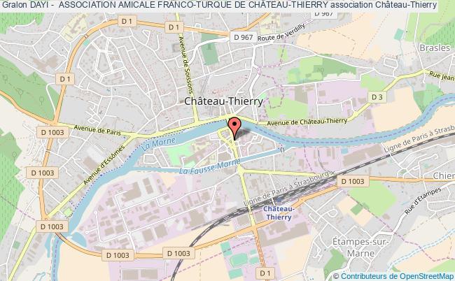 plan association Dayi -  Association Amicale Franco-turque De ChÂteau-thierry