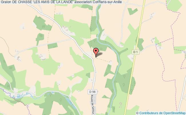 plan association De Chasse 'les Amis De La Lande'