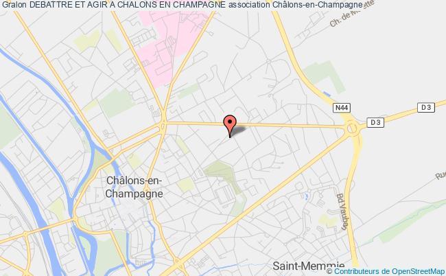 plan association Debattre Et Agir A Chalons En Champagne