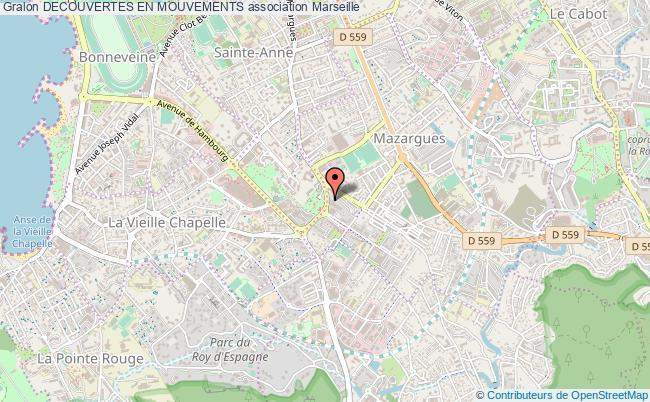 plan association Decouvertes En Mouvements Marseille