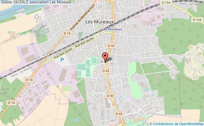 plan association Dedale Les   Mureaux