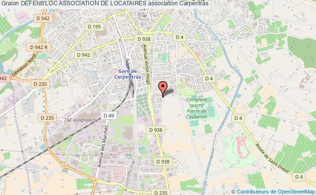 plan association Defens'loc Association De Locataires