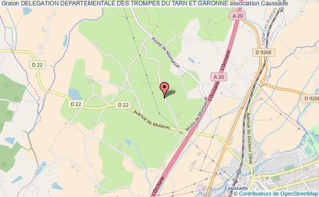 plan association Delegation Departementale Des Trompes Du Tarn Et Garonne