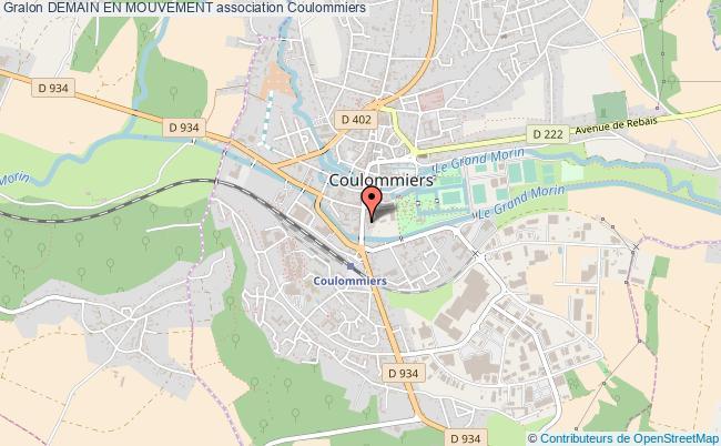 plan association Demain En Mouvement Coulommiers