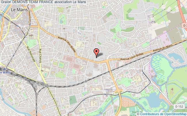 plan association Demons Team France