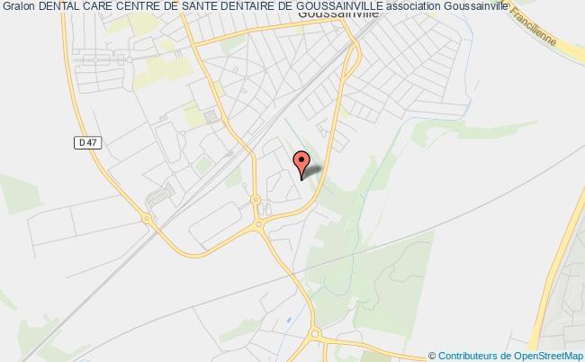 plan association Dental Care Centre De Sante Dentaire De Goussainville Goussainville