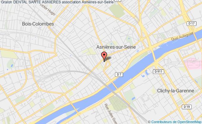 plan association Dental Sante Asnieres Asnières-sur-Seine