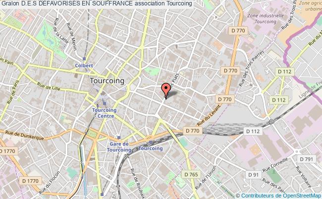 plan association D.e.s DÉfavorisÉs En Souffrance Tourcoing