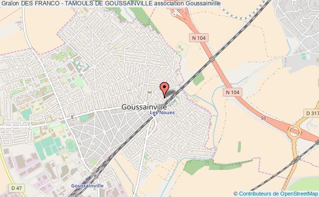 plan association Des Franco - Tamouls De Goussainville Goussainville