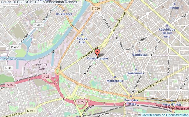 plan association Desgensmobiles Rennes