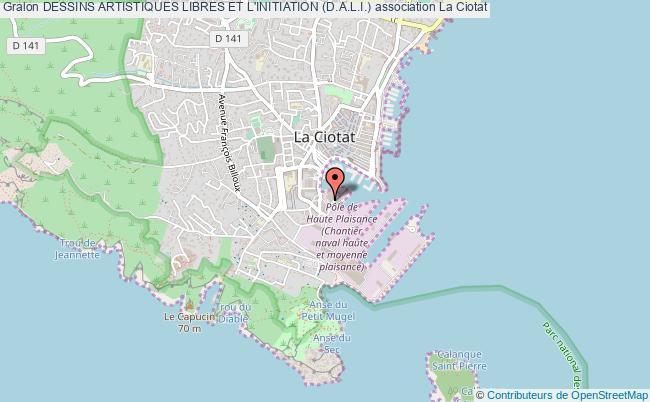 plan association Dessins Artistiques Libres Et L'initiation (d.a.l.i.)