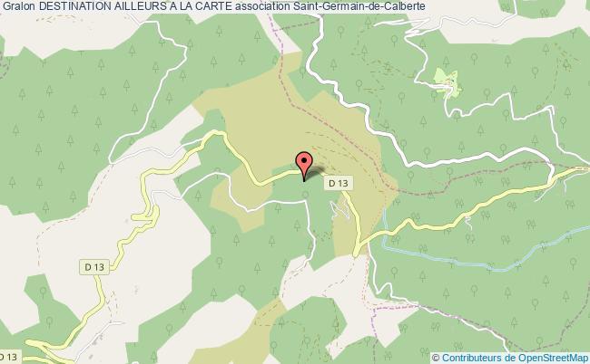 plan association Destination Ailleurs A La Carte