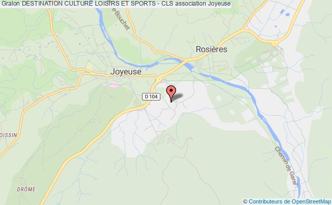 DESTINATION CULTURE LOISIRS ET SPORTS - CLS