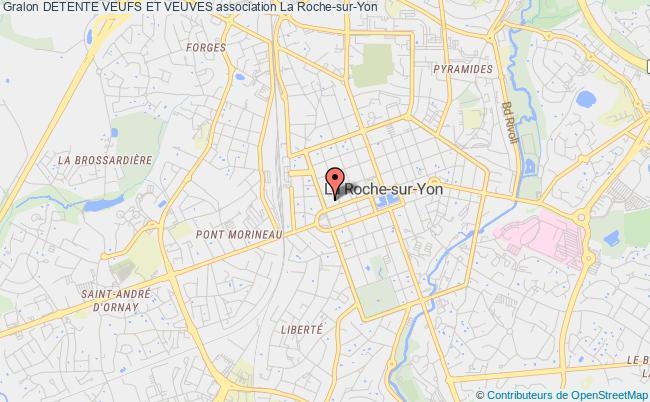 plan association Detente Veufs Et Veuves La    Roche-sur-Yon