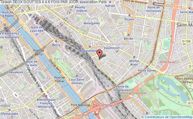 plan association Deux Gouttes 4 A 6 Fois Par Jour PARIS