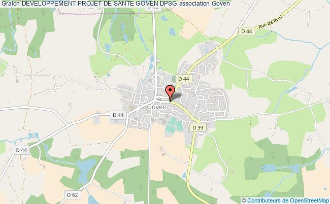 plan association Developpement Projet De Sante Goven Dpsg Goven