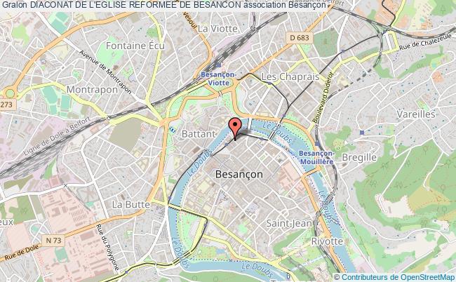 plan association Diaconat De L'eglise Reformee De Besancon