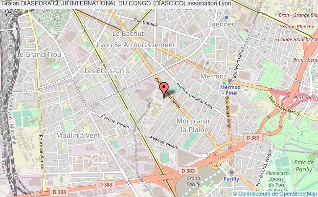 plan association Diaspora Club International Du Congo (diascico)