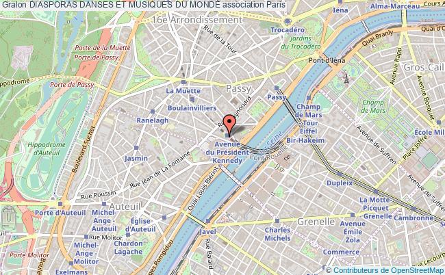 plan association Diasporas Danses Et Musiques Du Monde