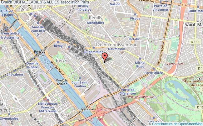 plan association Digital Ladies & Allies Paris
