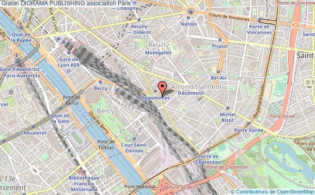 plan association Diorama Publishing Paris