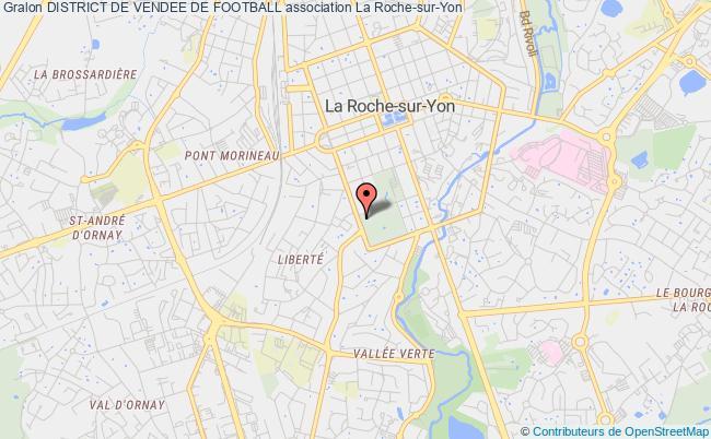 plan association District De Vendee De Football La    Roche-sur-Yon