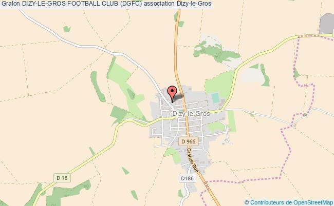 plan association Dizy-le-gros Football Club (dgfc)