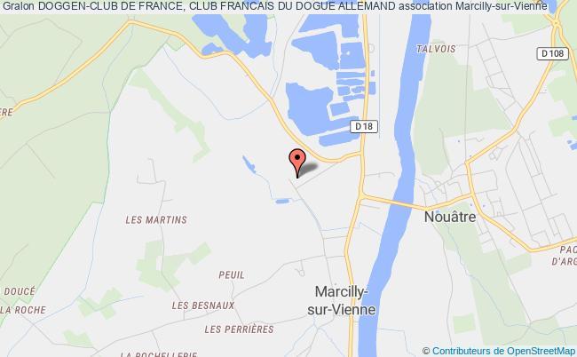plan association Doggen-club De France, Club Francais Du Dogue Allemand