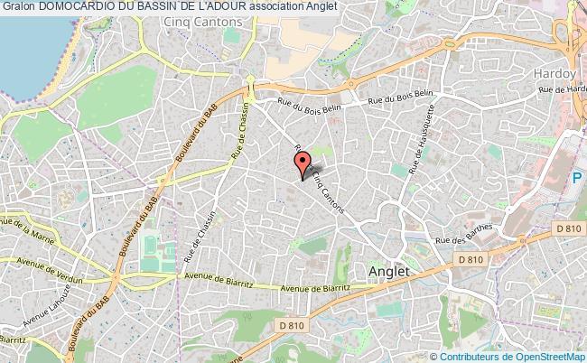 plan association Domocardio Du Bassin De L'adour