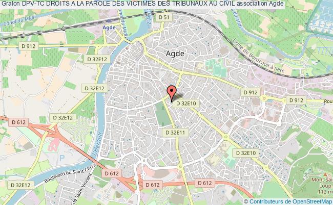 plan association Dpv-tc Droits A La Parole Des Victimes Des Tribunaux Au Civil Agde