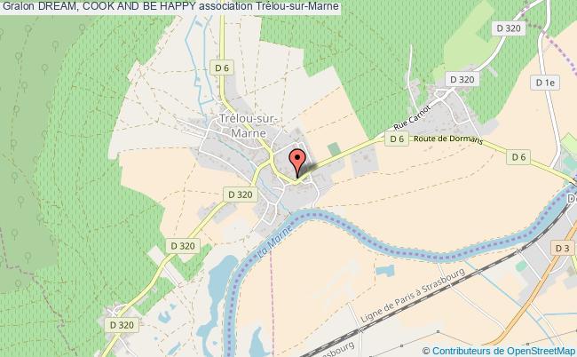 plan association Dream, Cook And Be Happy Trélou-sur-Marne