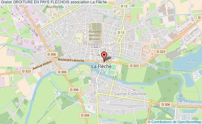 plan association Droiture En Pays FlÉchois