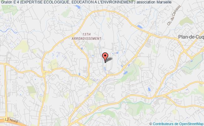 plan association E 4 (expertise Ecologique, Education A L'environnement)