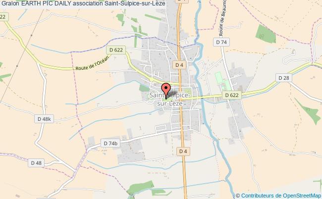 plan association Earth Pic Daily Saint-Sulpice-sur-Lèze