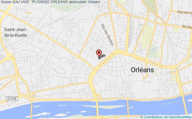 plan association Eau Vive - Plongee Orleans